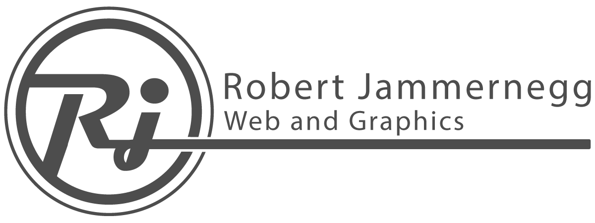 Robert Jammernegg Web and Graphics Logo
